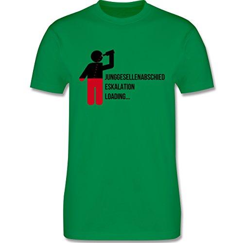 JGA Junggesellenabschied - Eskalation Loading Team Bräutigam - Herren Premium T-Shirt Grün