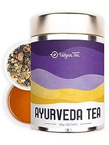 Udyan Tea Ayurveda Tea Healing Herbal Black Tea -50 g (20 Cups)| Cures Cold & Flu