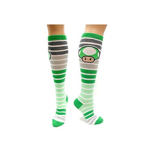 SUPER MARIO BROS - Chaussettes - Stripped Mushroom Sock