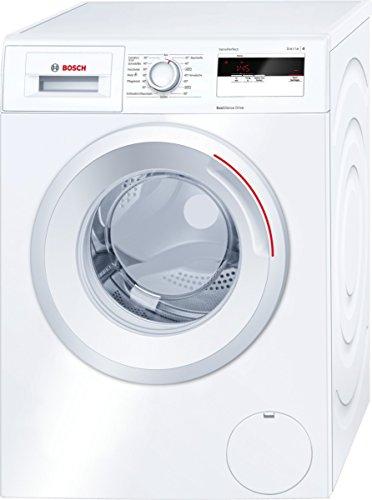 Bosch WAN28060 Serie 4 Waschmaschine FL / A+++ / 137 kWh/Jahr / 1400 UpM / 6 kg / Metallverschlusshaken / weiß