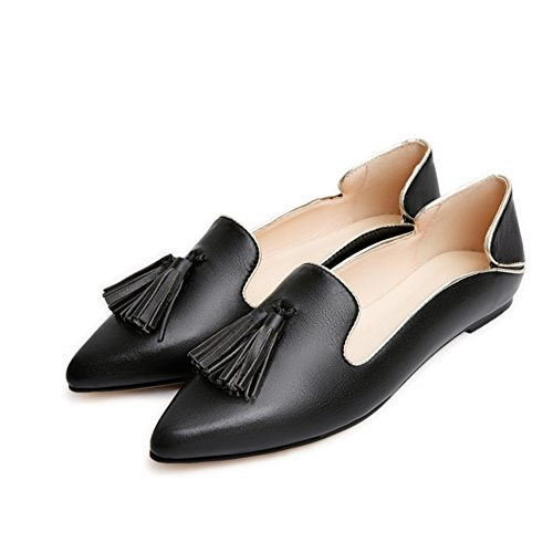 flache Joker Halbschuhe/Low-cut-Schuhe/die Mädchen Prinzessin Schuhe/Tassel Schuhe C