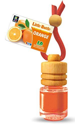 5 Stück elegante Duftflakons fürs Auto und Zuhause - Orange