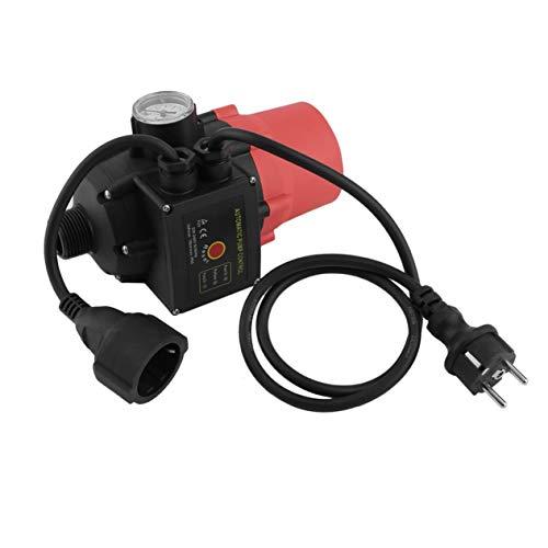 EdBerk74 Professioneller Pumpendruckkontrollschalter Elektronischer Wasserpumpenschalter Automatischer Wasserpumpendruckkontrollschalter EU-Stecker