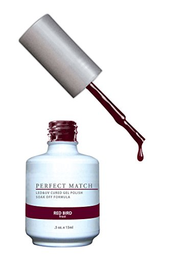 LECHAT Perfect Match Nail Polish, Red Bird, 0.500 Ounce by LECHAT