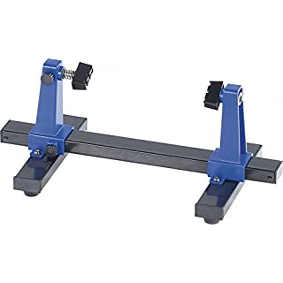 AGT board holder: robust 360° swivel mount for soldering and craft work (third hand).