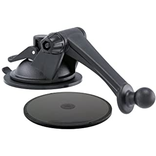 ARKON GN079WD Replacement Upgrade or Additional Windshield Dashboard Sticky Suction Mounting Pedestal with 3-Inch Arm for All Garmin nuvi GPS
