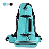 ubest Hohe Qualität Hunderucksack für Wandern, Atmungsaktiv Haustier Hund Katze Tasche Reise Rucksack für Kleine Mittele Hunde, Grün, M