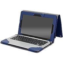 Gecko con teclado para Asus Transformer Book T100_parent azul azul oscuro 30,5 X 20,0 X 2,6 cm