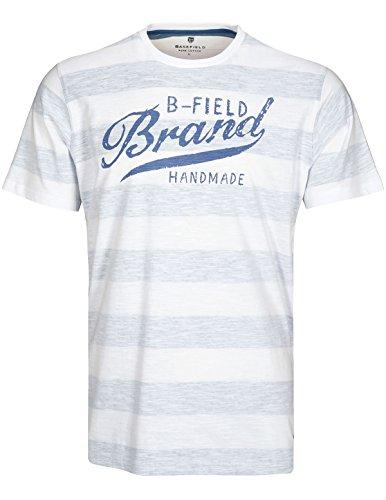 Basefield Herren Shirt B-Field - Weiss (219011849) 100 WEISS