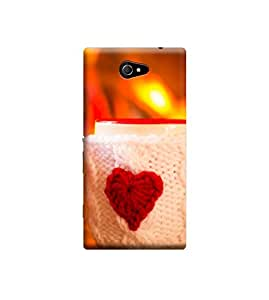 Ebby Back Cover for Sony Xperia M2 (Designer Case)