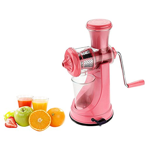 Primelife Plastic ARA-056 Fruit Juicer Vegetable Mixer Grinder, Pink