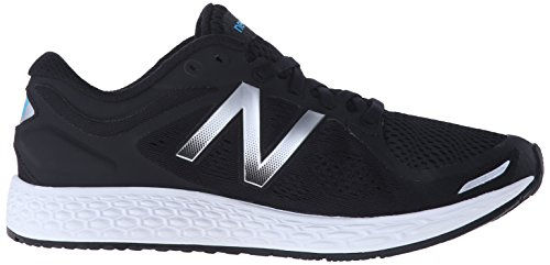 New Balance Women's Fresh Foam Zantev2 Running Shoe Black/Silver