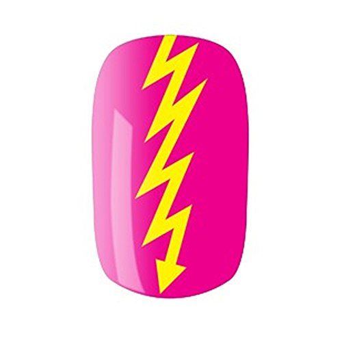 Ibiza Rocks: Bolt Faux-ongles - Multicolore, Taille Unique