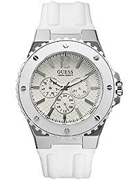 Guess Herren-Armbanduhr XL Analog Kautschuk W10603G1