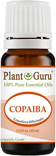 Copaiba Essential Oil 10 ml. 100% Pure, Undiluted, Therapeutic Grade. by Plant Guru