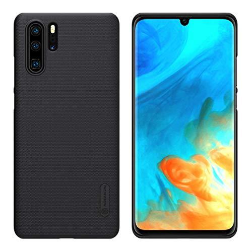 Nillkin Funda para Huawei P30 Pro, Funda rígida Antideslizante Frosted Shield Easy Grip para Huawei P30 Pro (Negro)