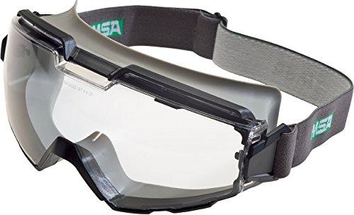 MSA Safety ChemPro Vollsichtbrille EN166 - Vollsichtschutzbrille gegen Spritzer, Dreck oder Staubpartikel