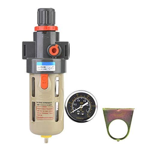Pneumatische Geräte (Acogedor Luftfilterregler, Druckreduzierventil, einstellbar, leicht, einfach zu installieren und zu verwenden, für pneumatische Instrumente und pneumatische Geräte. (BFR2000))