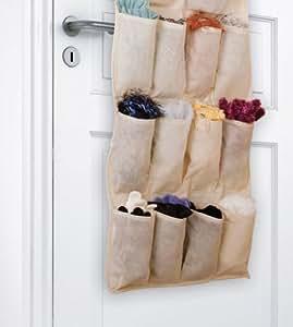 Organizzatore con tasche portaoggetti da appendere con for Tutto per il bagno