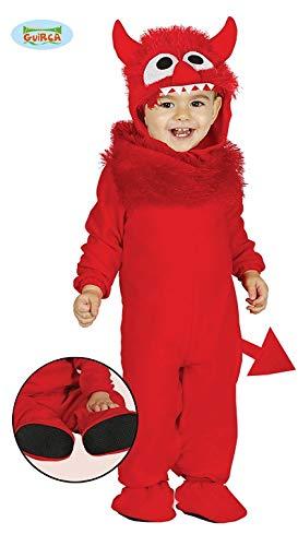 Kostüm Monster für Kinder Kinderkostüm Monsterkostüm Gr. 6-12 M ()