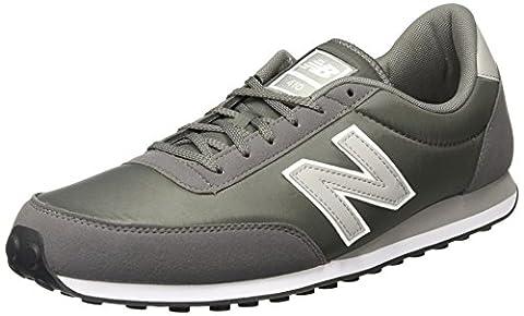 New Balance U410, Unisex Adults' Low-Top Sneakers, Grey, 10.5 (Nylon Mens Sneakers)