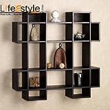 Decorative Floating wall shelf / book ra...