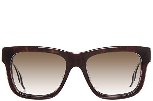 MCQ Alexander McQueen occhiali da sole uomo marrone
