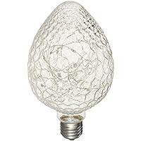 LEDMOMO Bombillas de luz LED Edison Bombillas de luz LED intermitentes E27 Bombillas de luces LED de cadena 3W para cafeterías de barra Sala de estar de dormitorio (fresa)