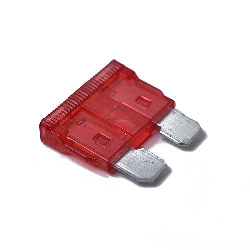 PerGrate 169 Lot DE 16 Mini Lames de sécurité pour Voiture Camion avec sécurité testeur