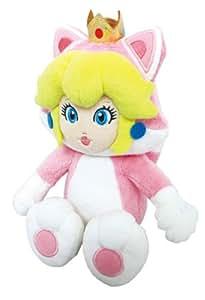 Sanei Super Mario 3d World Neko Cat Princesse Peach 22,9cm poupée en peluche
