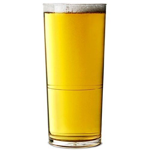 Elite in2stax Polycarbonat- Seidel Gläser CE 20oz/568ml - Pack of 48 Plastik wiederverwendbar Trinkgläser, fast unzerbrechlich Polycarbonat- Plastik - ideal für Partys, Aussen & Event Catering (Bb Elite)