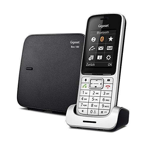 Gigaset SL450 Telefon - Schnurlostelefon / Mobilteil - mit Farbdisplay - Freisprechen - Design Telefon / schnurloses Telefon - platin schwarz - 2