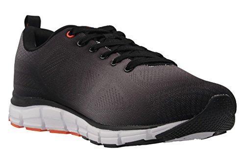 Mens Shoe 41 42 43 44 45 46 Boras spruzzato blu Moda Sport Sneaker Nero