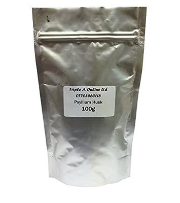 100g QUALITY PSYLLIUM HUSK ISABGOL ISPAGHULA NATURAL LAXATIVE IBS COLON DETOX - NATURAL FIBRE