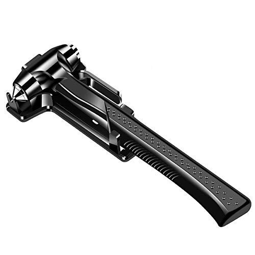 GLQ 2pcs Notfall-Hammer Auto Auto Sicherheit Hamme Fenster brechen Hammer Seatbelt Cutter Fenstermesser Fensterbrecher Notfall-Rettungs-Hammer Tool
