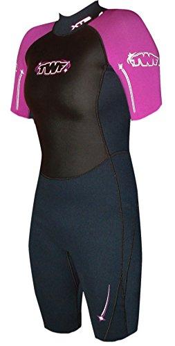 twf-womens-xt3-shortie-wetsuit-charcoal-hollyhock-size-12-14