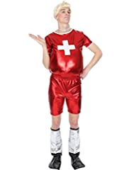 Idea Regalo - Mens Only Gay Village Funny TV 00 Stag Outfit Fancy Dress Costume Extra Large