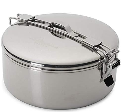 MSR (Mountain Safety Research) Edelstahltopf StowAway Pot, Silver, 775 ml, 321108