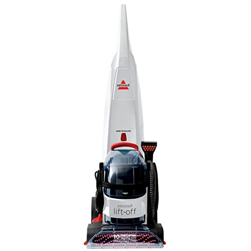 Bissell Lift-Off Carpet Cleaner with HeatWave Technology, 2.5 L, 1500 W – White/Red