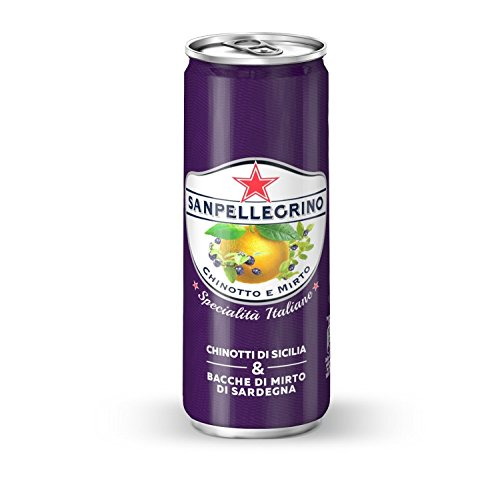 Chinotto & Mirto 24 can x 330 ml. - San Pellegrino Lemonade