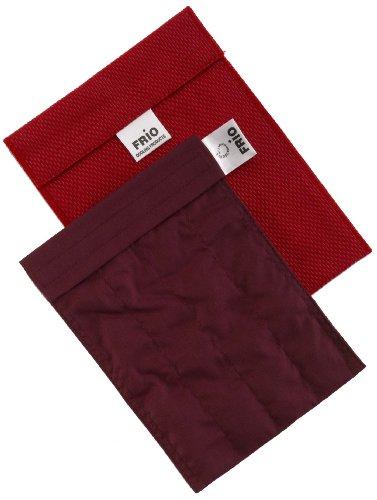 Frio - Bolsa isotérmica para mantener insulina, color rojo, 14 x 19 cm