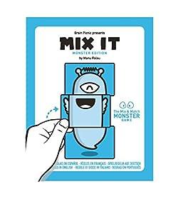 ZACATRUS- Mix it Juego de Mesa, Color Azul y Blanco (Brain Picnic MIX002)
