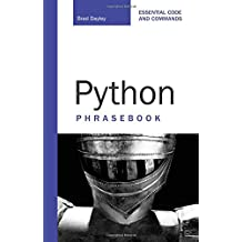 Python Phrasebook: Essential Codes and Commands