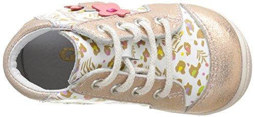 GBB Baby Mädchen Petula Lauflernschuhe Multicolore (Vte Blc Imp-Rose Poudre Dpf/Kezia)