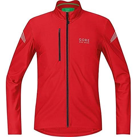 Gore Bike Wear Element Thermo - Maillot de ciclismo para hombre, color rojo (red), talla L