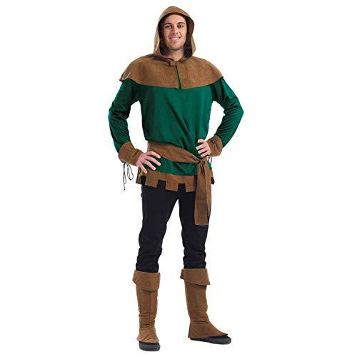 tume Kostüm, Mens Robin Hood, m ()