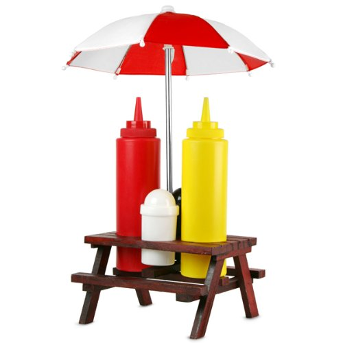 picnic-bench-condiment-set-picnic-table-condiment-set-condiment-holder-sauce-holder-sauce-bottle-hol