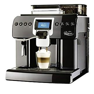 Saeco-Royal-One-Touch-Cappuccino-Kaffeevollautomat-schwarz-Gewerbezulassung-15bar-1400-Watt