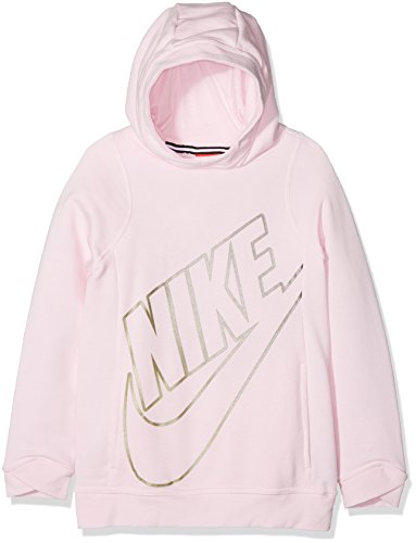 Nike G NSW Moderne Po Gfx Sweatshirt, Mädchen, Rose (Arctic Pink), L Arctic Pullover