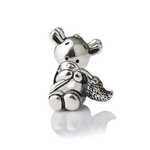 brand-new-cute-squirrel-sterling-silver-charm-bead-s925-cute-squirrel-chipmunk-mouse-hamster-silver-